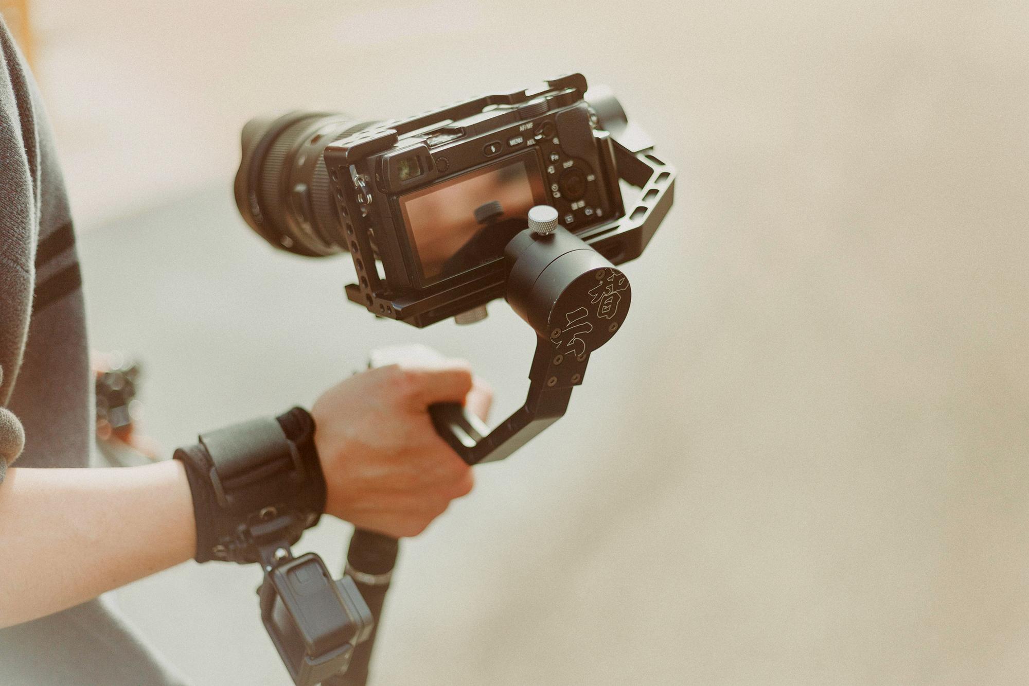 video camera stabilisers